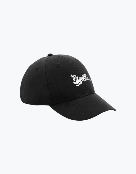 Recycled Baseball Cap Black