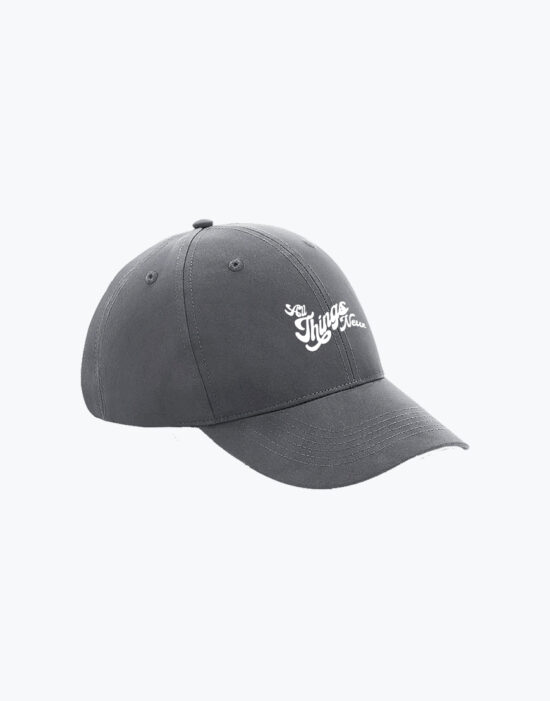 Recycled Baseball Cap Grey