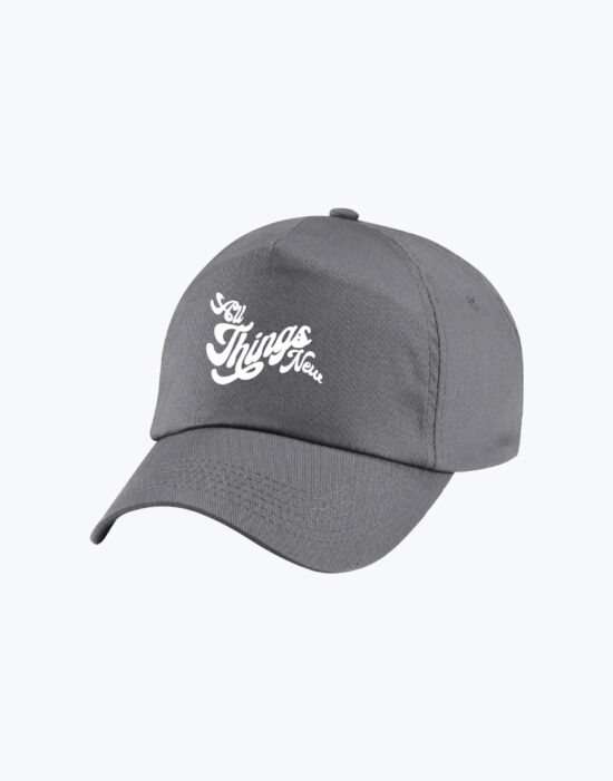 Junior Baseball Cap Charcoal