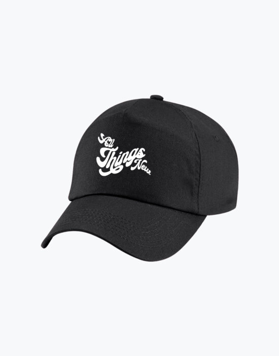 Junior Baseball Cap Black