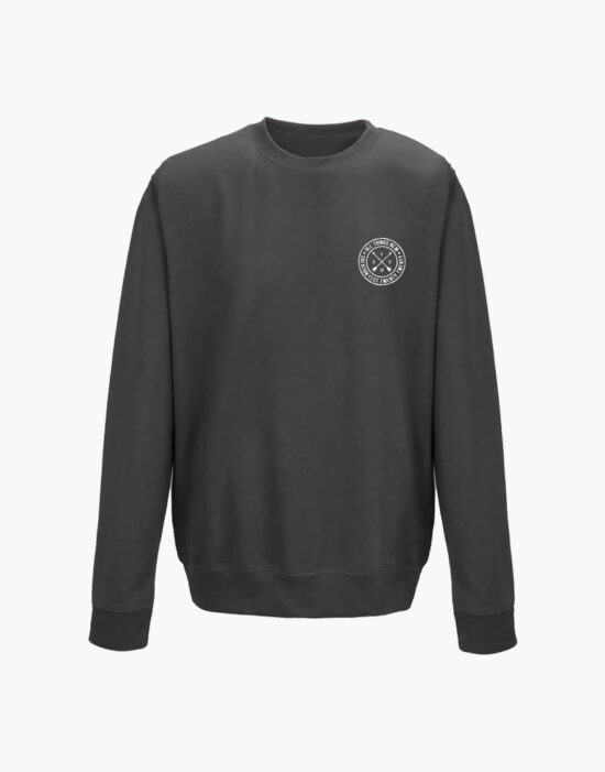 Circle Sweatshirt Charcoal Heather