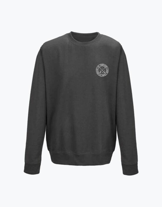 Circle Sweatshirt Charcoal Heather