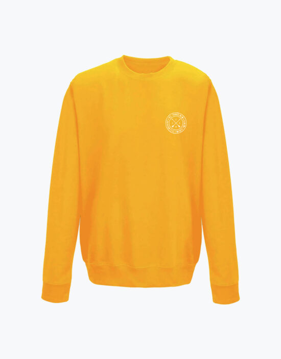 Circle Sweatshirt Gold