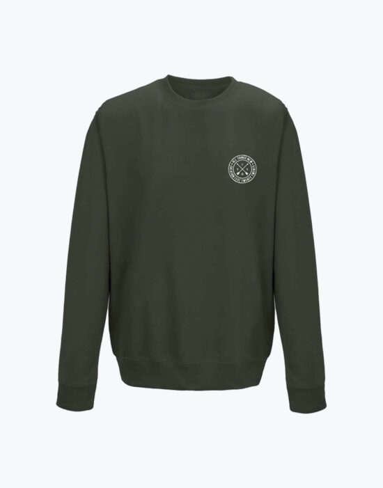 Circle Sweatshirt Olive