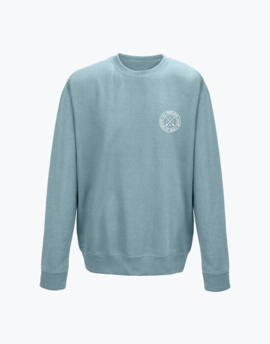 Circle Sweatshirt Sky
