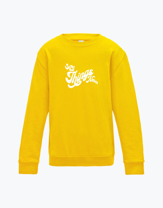 ATN Kids Sweatshirt Sun Yellow